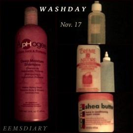 2013.11.17 wash day