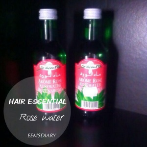 Hair essential Rose water