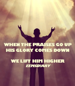 We lift Him higher