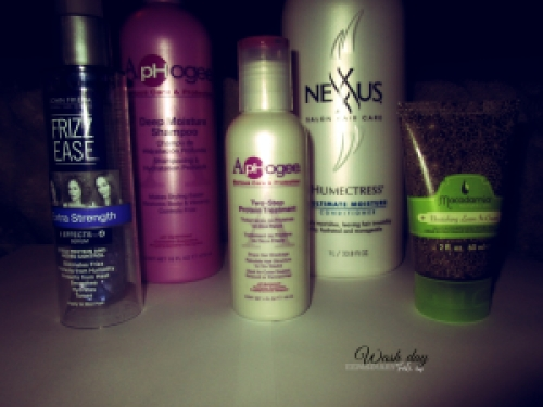 2015.02.14 wash day products